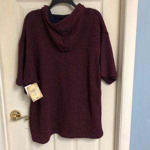 company 81 Shirts - NWT - Short Sleeve Hoodie by Company 81